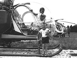 Me at 4 with a Bell 47
